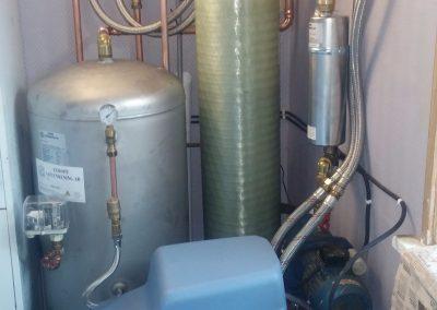 Vattenfilter mot järn, mangan och kalk
